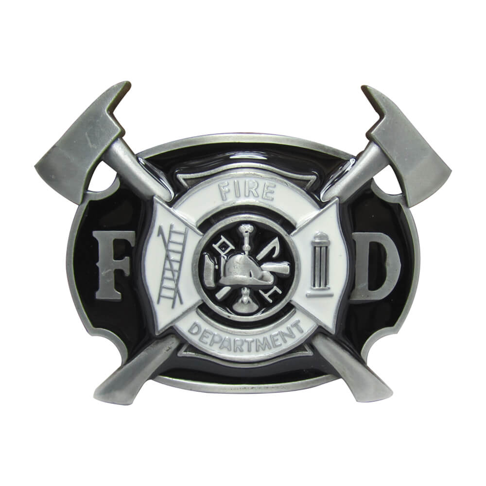 firefighter belt buckles
