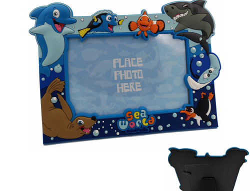 Custom made plastic photo frame
