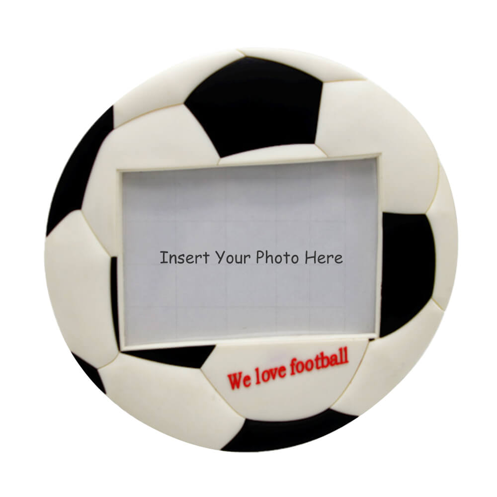 personalized Soccer photo frame
