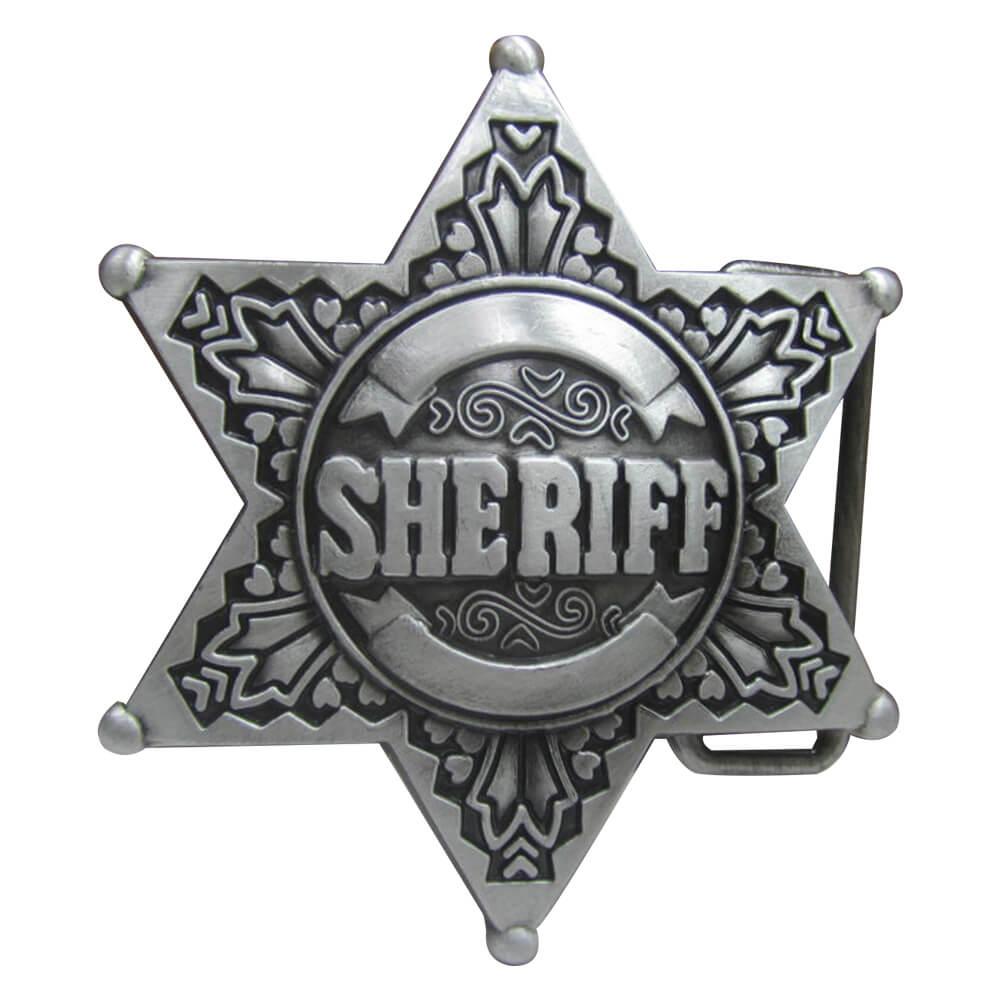 sheriff belt buckles